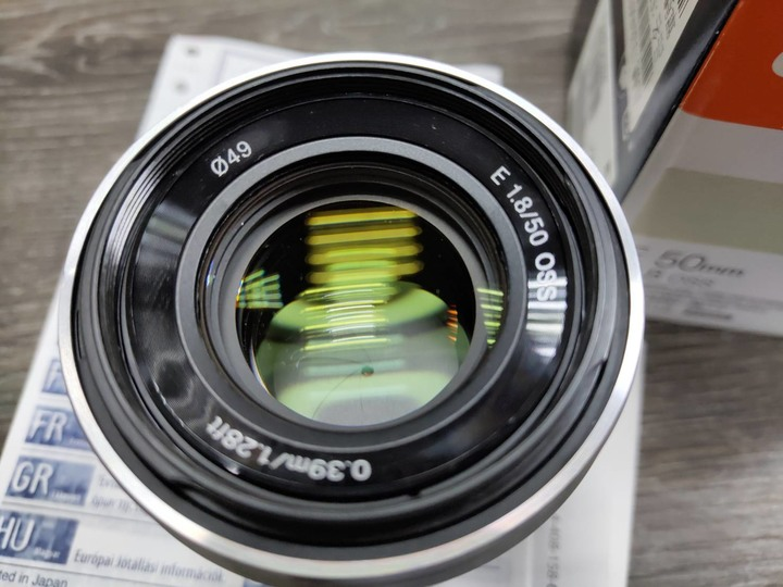 SONY E接環 50mm F1.8 OSS