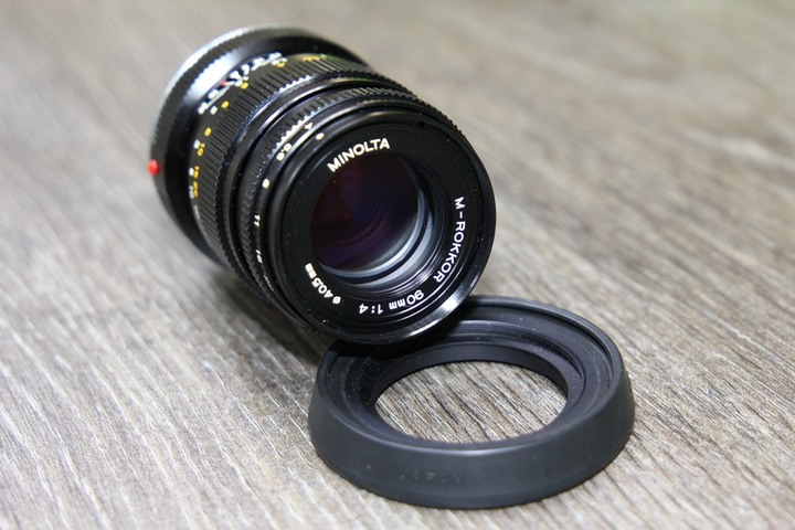 Minolta M-ROKKOR 90mm F4 (Leica M接環)