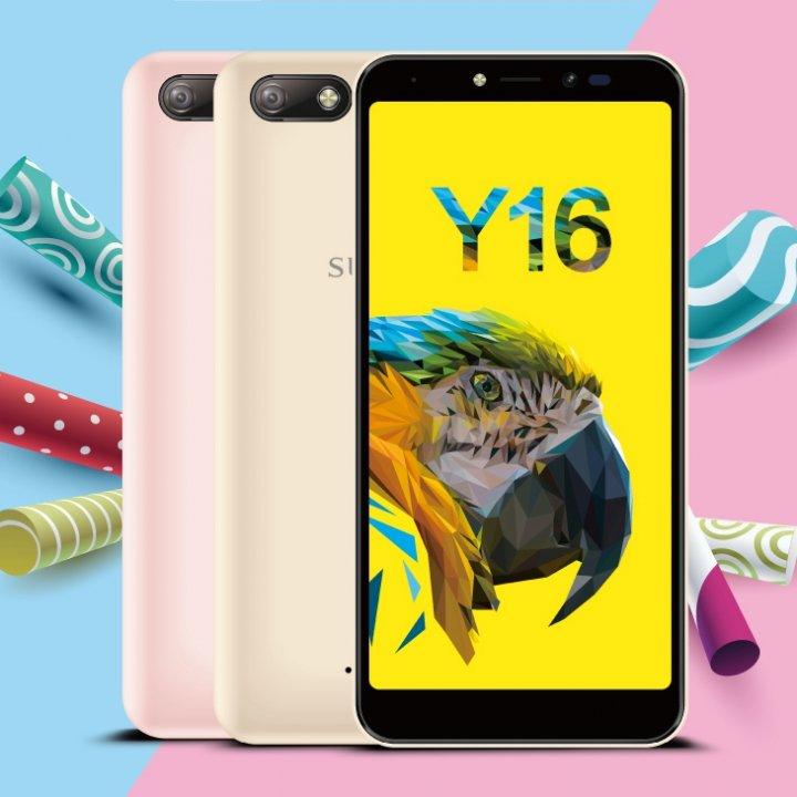 全新未拆 糖果手機 SUGAR Y16 玫瑰金 粉色 金色 32G 5.45吋 雙卡 台灣公司貨 保固一年 高雄可面交