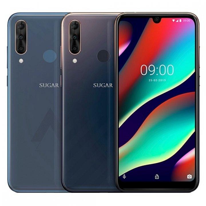 全新未拆 糖果手機 SUGAR T50 6.3吋 128G 堇石藍 極光靛 後置三鏡頭 台灣公司貨 保固一年 高雄可面交