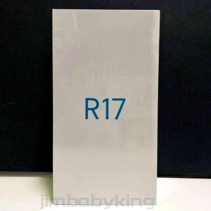 全新未拆 OPPO R17 流光藍 霓光紫 霧光漸變 6.4吋 128G 水滴螢幕 台灣公司貨 保固一年 高雄可面交