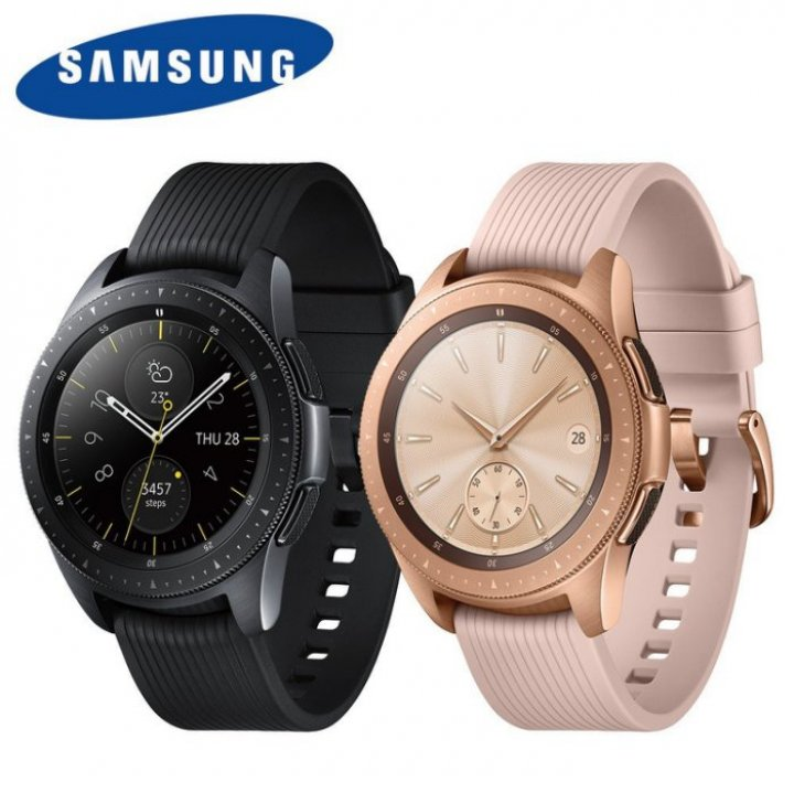 全新未拆 三星 Galaxy Watch LTE R815 42mm 玫瑰金 黑色 智慧手錶 公司貨保固一年 高雄可面交