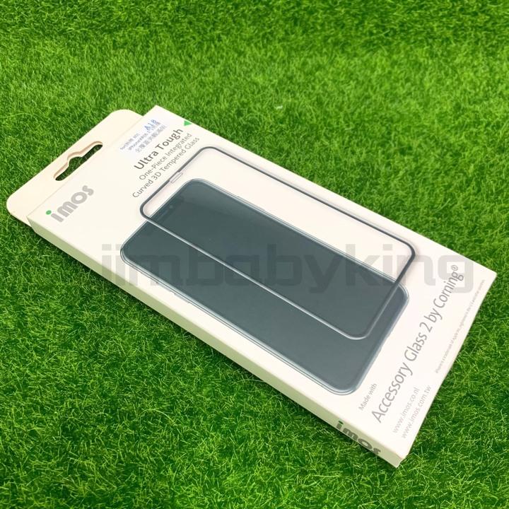 現貨 正版 imos 9H 美國康寧 iPhone XR 11 6.1吋 3D熱彎 強化玻璃貼 全覆蓋美觀版 高雄可面交