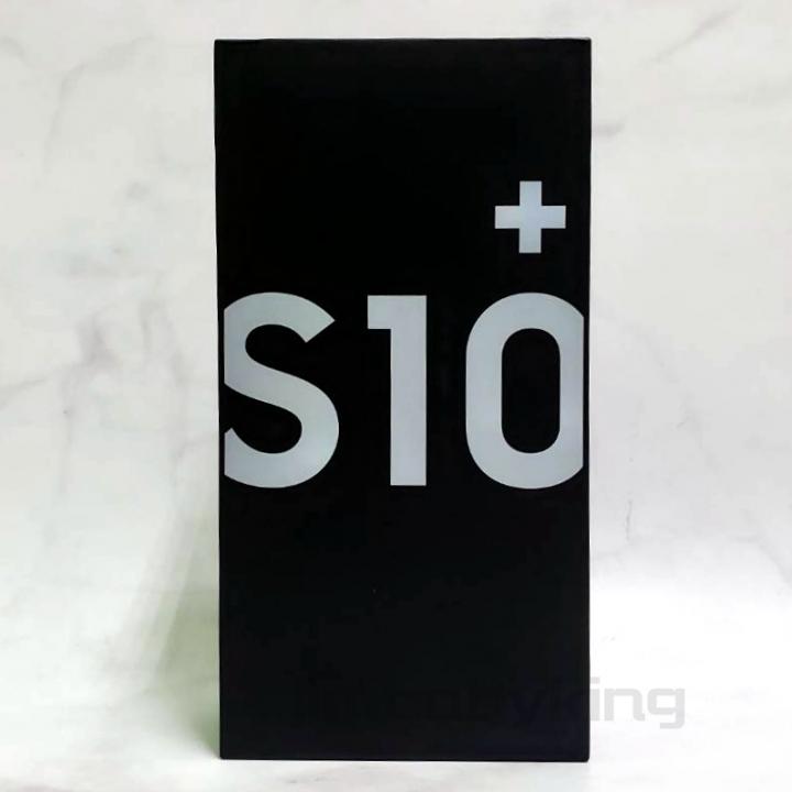 全新未拆庫存機 SAMSUNG三星 S10+ 6.4吋 128G 絢光白 極限全螢幕 保固到明年4月 公司貨 高雄可面交
