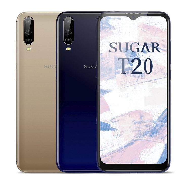 全新未拆 糖果 SUGAR T20 金色 藍色 64G 6.52吋 雙卡 廣角 三鏡頭 台灣公司貨 保固一年 高雄可面交