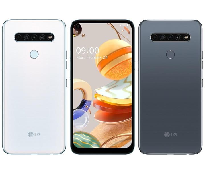 全新未拆 樂金 LG K61 128G 6.53吋 白色 灰色 雙卡 四鏡頭 環繞音效 台灣公司貨 保固一年 高雄可面交