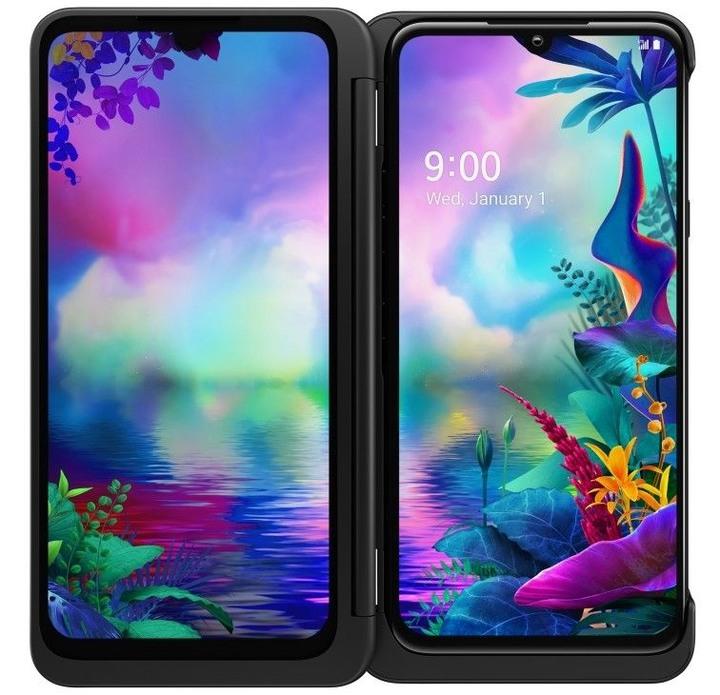 全新未拆 LG G8X ThinQ 6.4吋 128G 極光黑 支援雙螢幕 雙卡雙待 台灣公司貨 保固一年 高雄可面交
