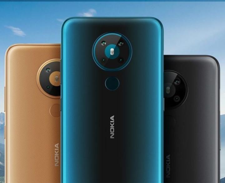 全新未拆 Nokia 5.3 黑色 金色 藍色 6+64G 6.55吋 雙卡 四鏡頭 台灣公司貨 保固一年 高雄可面交