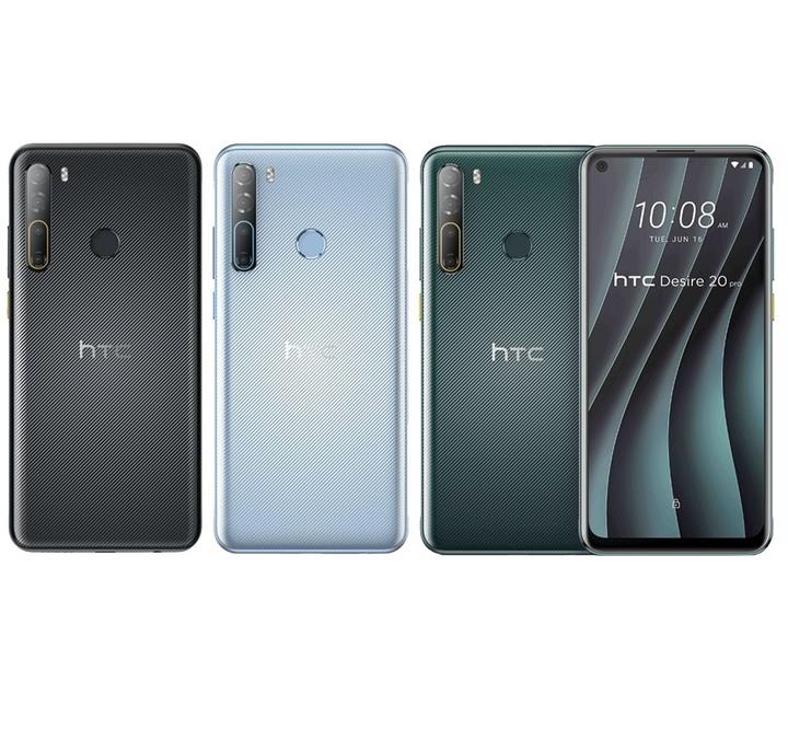 全新未拆 HTC Desire 20 Pro 128G 6.5吋 黑色 藍色 綠色 台灣公司貨 保固一年 高雄可面交
