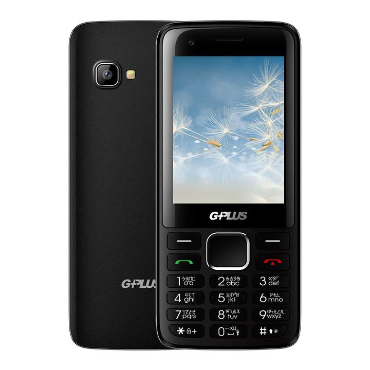 全新未拆 G-PLUS 3GPro 黑色 直立式手機 老人機 前後相機鏡頭 可拍照 台灣公司貨 保固一年 高雄可面交