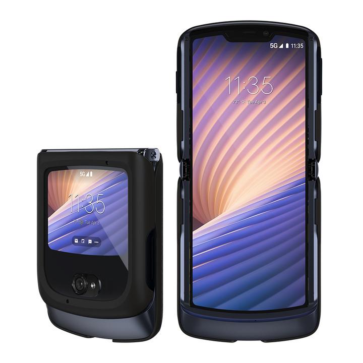全新未拆 Motorola Razr 5G 256G 6.2吋 摺疊機 雙螢幕 亮岩灰 台灣公司貨 保固一年 高雄可面交