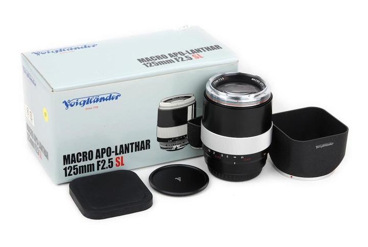 Voigtlander MACRO APO-LANTHAR 125mm f2.5 SL for CANON