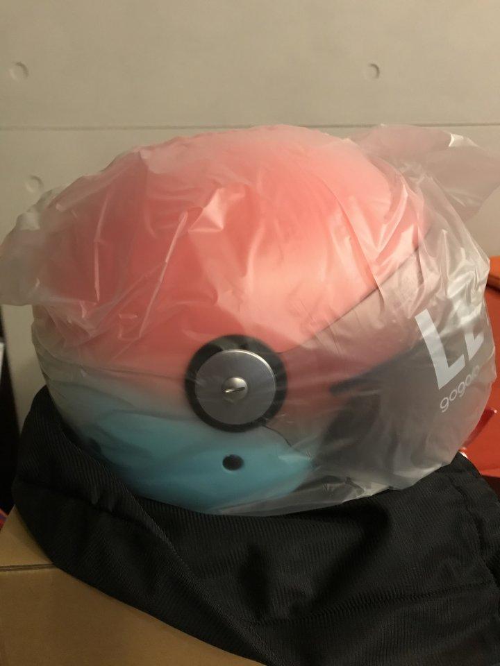 GOGORO 手工噴塗漸層安全帽