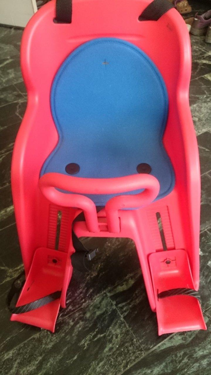 自行車快拆支架型 豪華前座型兒童座椅 無毒安全_何必買全新
