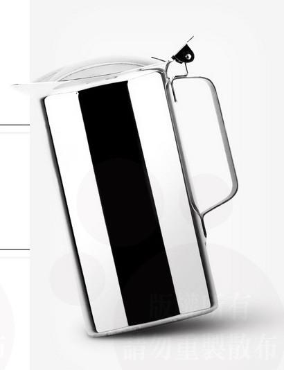 全新 ZEBRA 斑馬 1.9L 冷水壺 附蓋 304 不銹鋼 茶壺 不鏽鋼