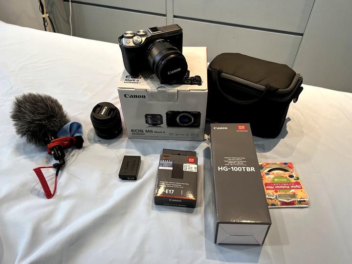 Canon EOS M6 Mark ii 15-45kit鏡頭組