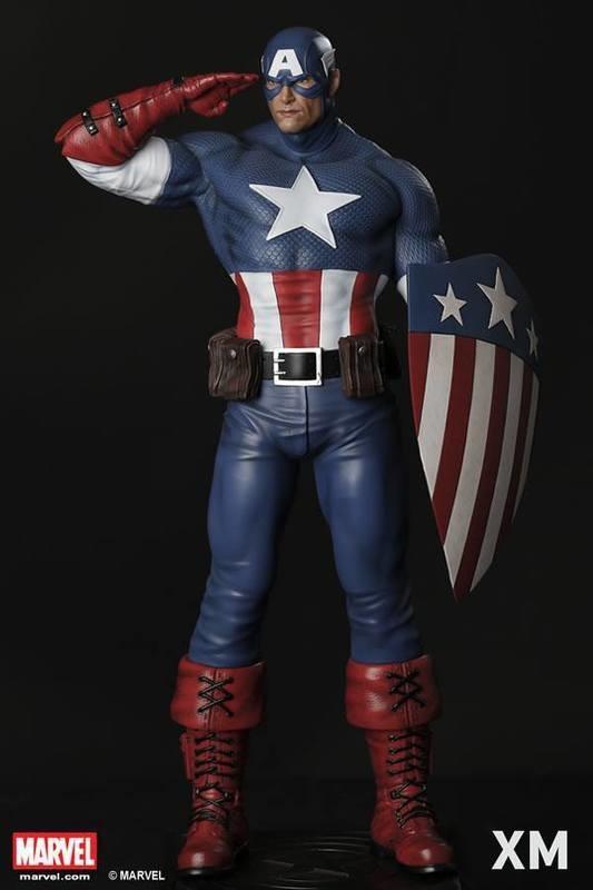 XM Studios Captain America 美國隊長 1/4 雕像 復仇者聯盟