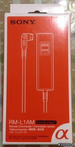 SONY RM-L1AM 5公尺快門線控器 (公司貨)