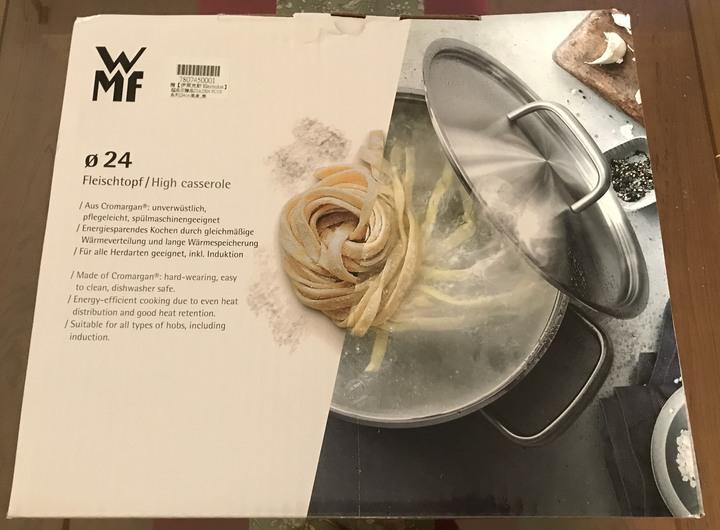 WMF diadem plus 高身湯鍋 24CM 6.5L 附玻璃蓋