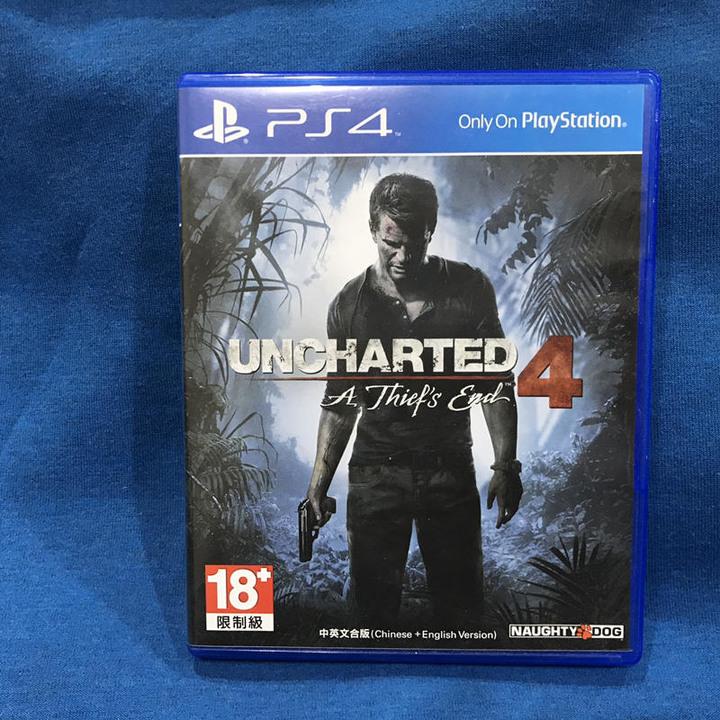 秘境探險4 PS4 UNCHARTED 4