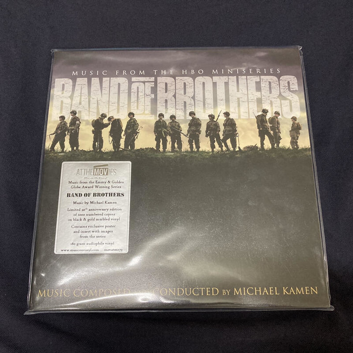 Band of brothers 2LP 諾曼第大空降 OST 原聲帶 黑膠唱片