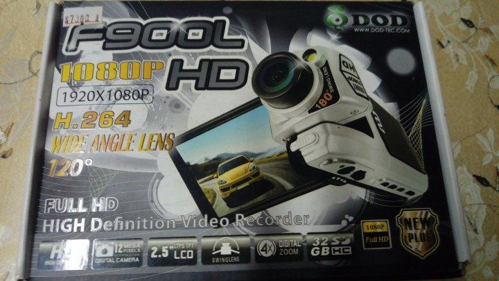 DOD F900LHD 行車記錄器 1080P/H.264影像壓縮/螢幕360度翻轉+180度旋轉鏡頭