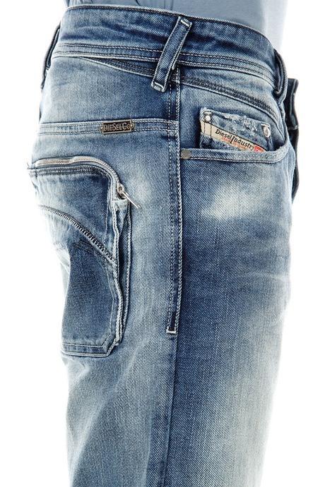 Used Diesel POIAK 008C0 W30L32 義大利刷色小直筒褲Italy(DARRON,KROOLEY)perdey,D2)