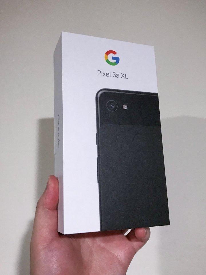 全新未拆 Google Pixel 3a XL 64GB 純粹黑