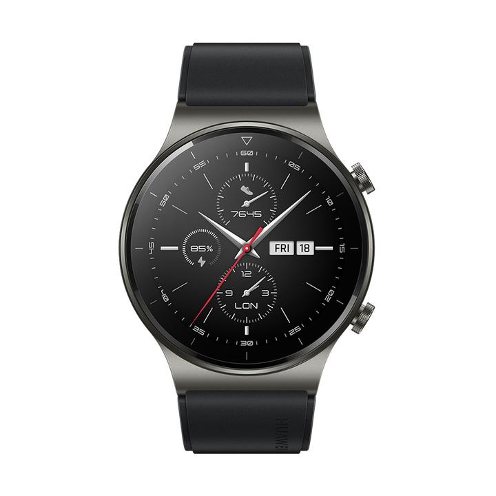 全新 華為 HUAWEI Watch GT 2 Pro 46mm 運動款 黑 GPS手錶 台灣公司貨保固一年