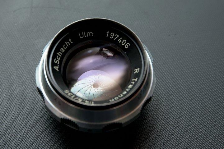 A.Schacht Ulm 135mm F4.5 R  長焦 放大鏡