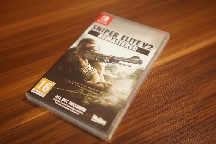 NS 任天堂 Switch 狙擊之神 V2 重製版 Sniper Elite V2