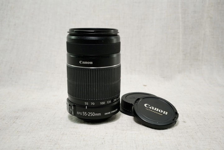 Canon EF-S 55-250mm f/4-5.6 IS II 遠攝變焦鏡頭