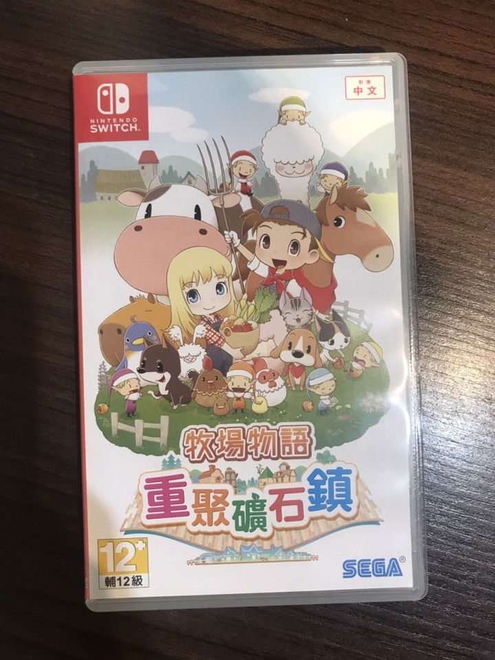 Nintendo Switch 牧場物語 重聚礦石鎮 中文版