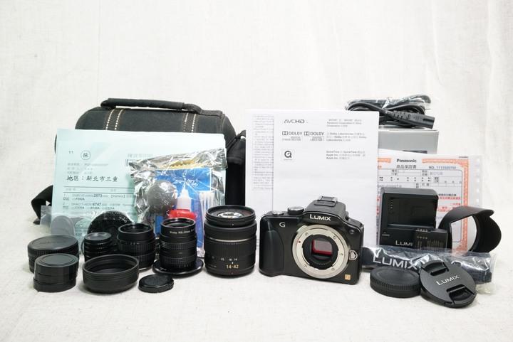 Panasonic LUMIX DMC-G3W + 14-24mm f3.5-5.6 ASPH 公司貨 含復古鏡頭*2