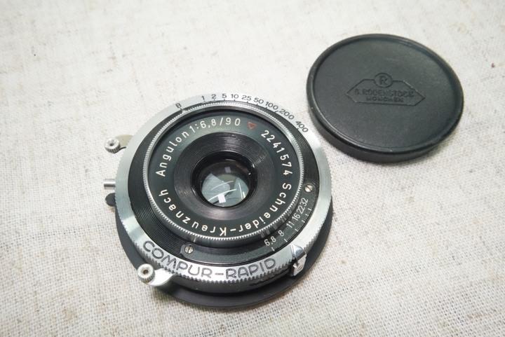 Schneider-Kreuznach Angulon f6.8/90mm 廣角鏡頭
