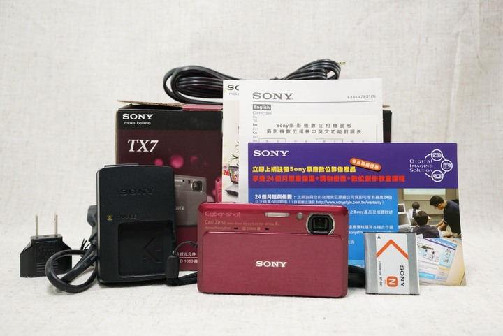 Sony Cybershot TX7 數位相機 盒裝
