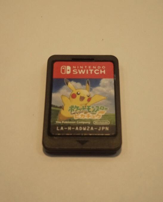 Nintendo Switch 精靈寶可夢 Let's Go!皮卡丘