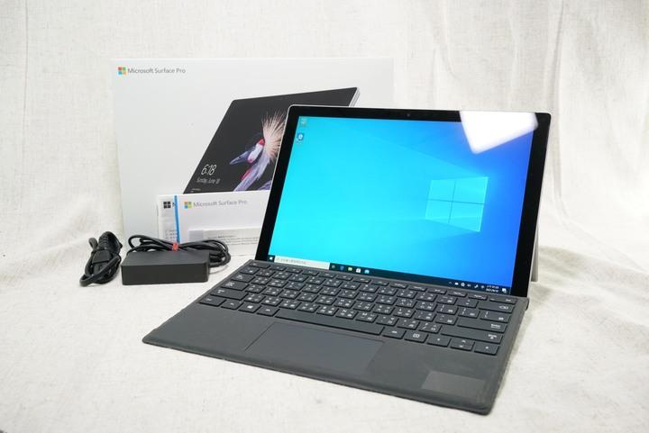 Microsoft Surface Pro 5/11吋/i5-7300U/4G/128G SSD 盒裝配件鍵盤完整