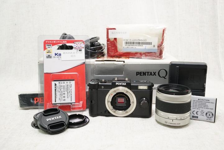 PENTAX Q 黑+5-15mm f2.8-4.5 數位相機