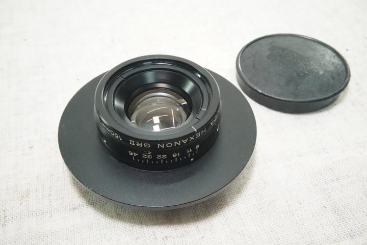KONICA HEXANON GR II 150mm F9  大型相機鏡頭