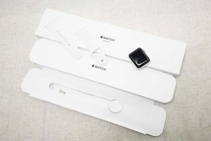 Apple Watch Series 3 第三代 38mm GPS A1858 盒裝