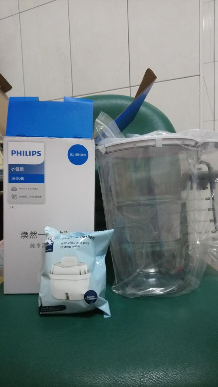 Philips 飛利浦濾水壺-通用版3.4L