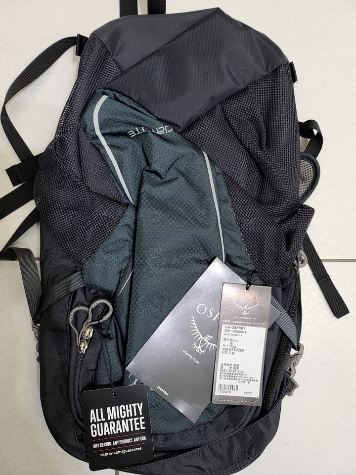 Osprey Daylite 13L超輕多功能背包 全新 黑色款 在台北