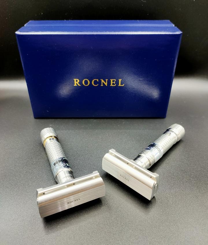 土耳其Rocnel Sailor限量版金環鋼環可調段數傳統老式雙面安全刮鬍刀Safety Razor