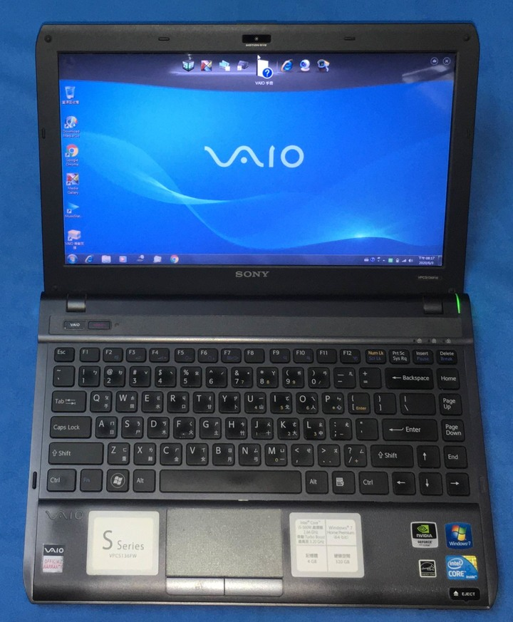 Sony VAIO VPCS136FW 13.3吋筆電 i5
