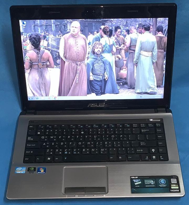 "ASUS K43SD i5-2450M 獨顯 14""鏡面寬螢幕"