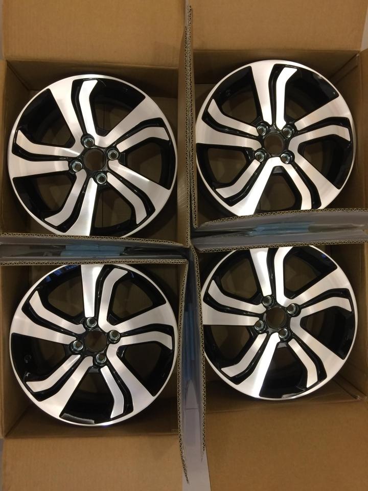 HONDA CITY 頂級款式 VTI-S 全新原廠(非落地胎圈) 16吋 6J 鋁圈 FIT 可用 本田車款通用