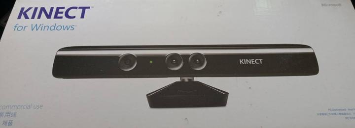 微軟 KINECT 1.0 V1 一代 感應器 體感鏡頭 黑色