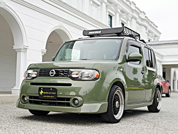 2009 NISSAN CUBE 日本原裝進口車種 市場稀有 路上吸睛 全額貸 實車實價