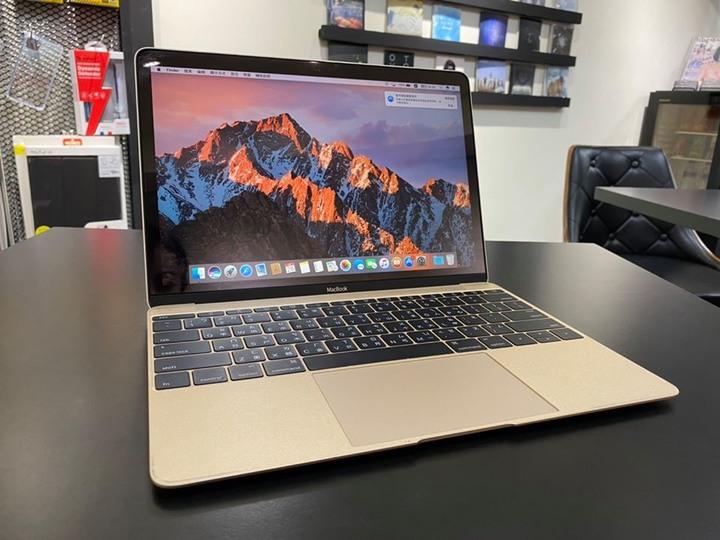 "【售】MacBook 12"" (2016) 256GB 金"